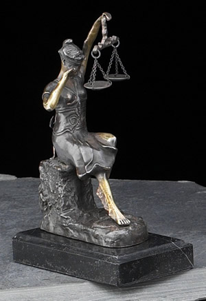 Lady Justice, Nancy Grace and Me