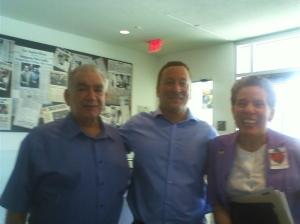Donna R. Gore, Dennis Griffin,Dr. Henry Lee