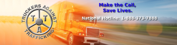 Truckers Against Trafficking, human trafficking prevention, Shattered Lives Radio, Donna R. Gore