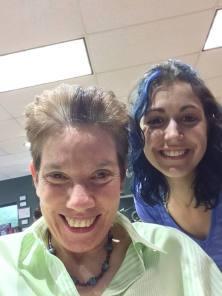 Donna Gore and Christine at Modern Edge Salon