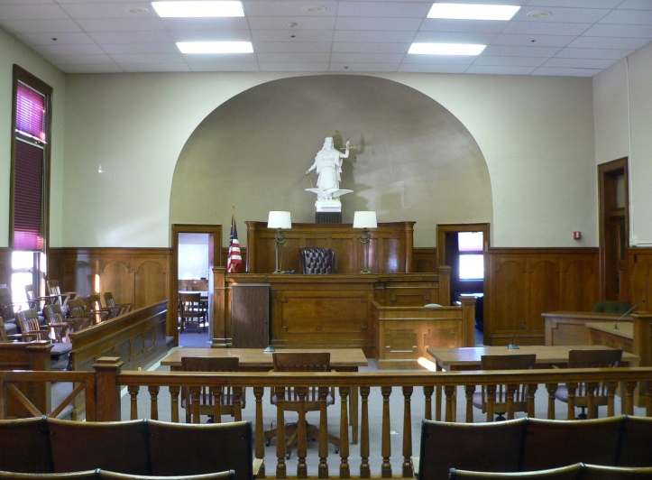 court room, victim advocates