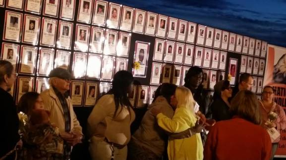 Families honored at the National Candlelight Vigil