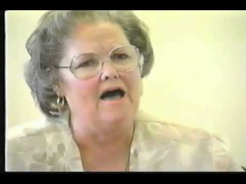 Doris Tate delivers victim impact statement at the parole hearing of Tex Watson