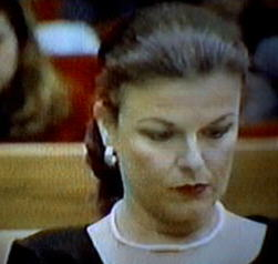 Freda Back During Peterson Trial