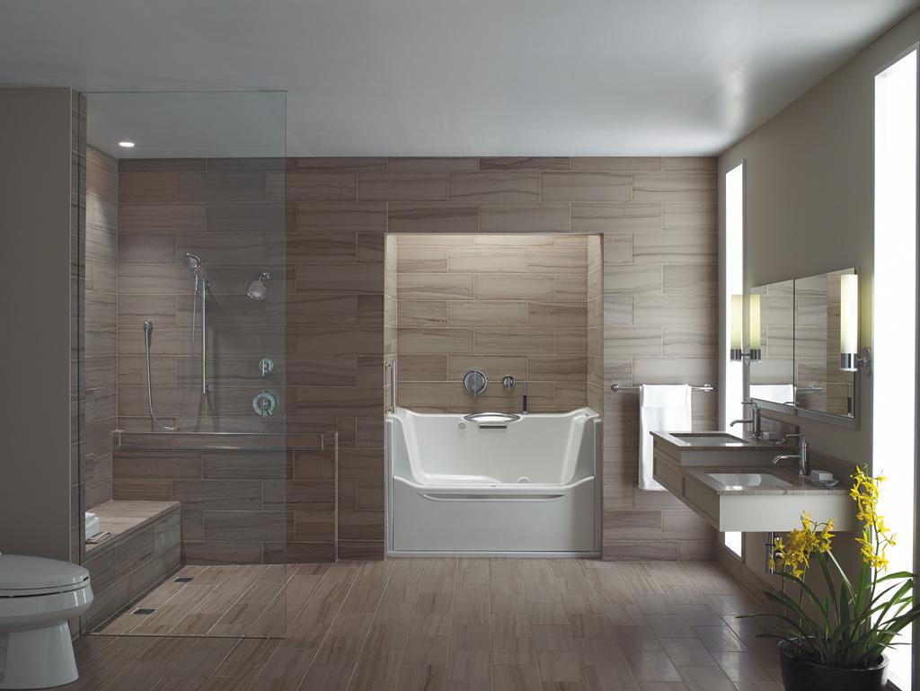 Universal Design Bathroom
