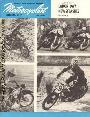 Motorcyclyst 1957