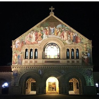 Stanford Church at Night